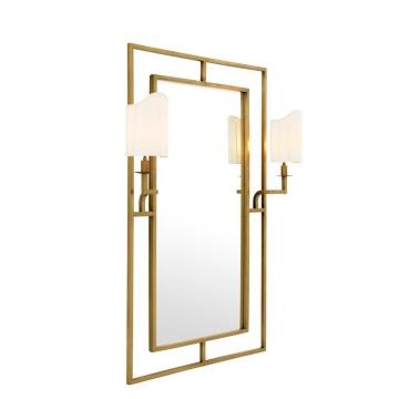 Spegel Astaire Mässing 2