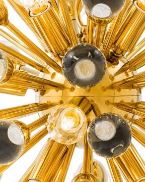 Antares taklampa guld S 3