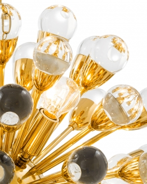 Antares taklampa guld S 2