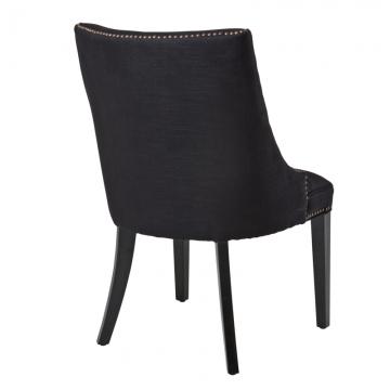 Bermuda stol svart 2