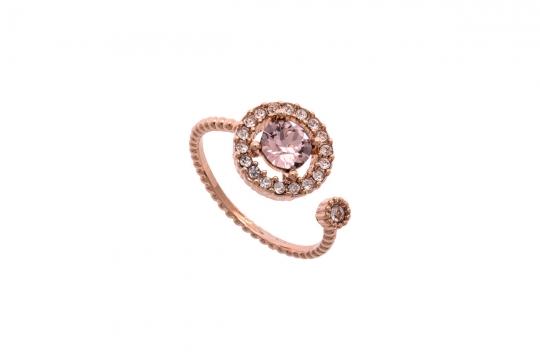 Miranda ring vintage rose 1