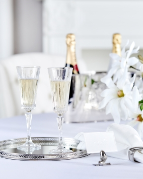 Manhattan champagneglas kristall singel 2