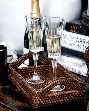 Manhattan champagneglas kristall singel 1