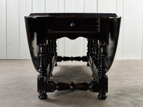 Balmoral matbord svart 200cm 2