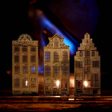Amsterdam Candle Houses 4