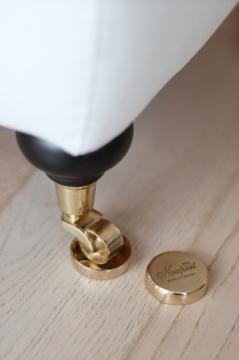 Golvskydd polish brass 1